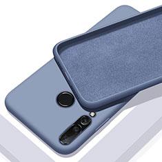 Silikon Hülle Handyhülle Ultra Dünn Schutzhülle 360 Grad Tasche für Huawei P20 Lite (2019) Hellblau