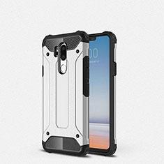 Silikon Hülle Handyhülle Ultra Dünn Schutzhülle 360 Grad Tasche für LG G7 Weiß