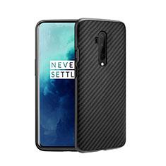 Silikon Hülle Handyhülle Ultra Dünn Schutzhülle 360 Grad Tasche für OnePlus 7T Pro 5G Grau