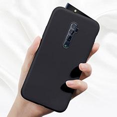 Silikon Hülle Handyhülle Ultra Dünn Schutzhülle 360 Grad Tasche für Oppo Reno 10X Zoom Schwarz