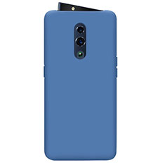 Silikon Hülle Handyhülle Ultra Dünn Schutzhülle 360 Grad Tasche für Oppo Reno Blau