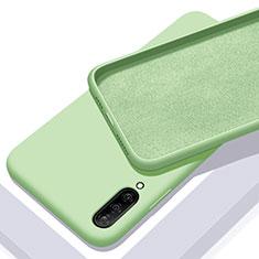 Silikon Hülle Handyhülle Ultra Dünn Schutzhülle 360 Grad Tasche für Samsung Galaxy A70 Grün