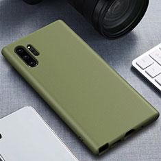 Silikon Hülle Handyhülle Ultra Dünn Schutzhülle 360 Grad Tasche für Samsung Galaxy Note 10 Plus Grün