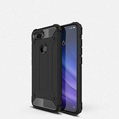 Silikon Hülle Handyhülle Ultra Dünn Schutzhülle 360 Grad Tasche für Xiaomi Mi 8 Lite Schwarz