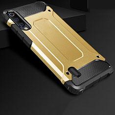 Silikon Hülle Handyhülle Ultra Dünn Schutzhülle 360 Grad Tasche für Xiaomi Mi A3 Gold