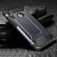 Silikon Hülle Handyhülle Ultra Dünn Schutzhülle 360 Grad Tasche für Xiaomi Mi Max 3 Blau