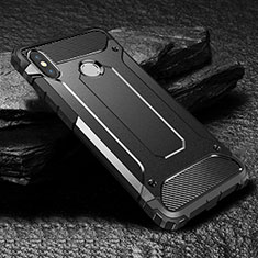 Silikon Hülle Handyhülle Ultra Dünn Schutzhülle 360 Grad Tasche für Xiaomi Mi Max 3 Schwarz
