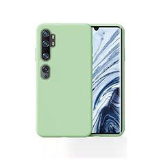 Silikon Hülle Handyhülle Ultra Dünn Schutzhülle 360 Grad Tasche für Xiaomi Mi Note 10 Grün