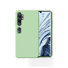Silikon Hülle Handyhülle Ultra Dünn Schutzhülle 360 Grad Tasche für Xiaomi Mi Note 10 Pro Grün