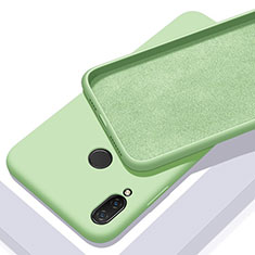 Silikon Hülle Handyhülle Ultra Dünn Schutzhülle 360 Grad Tasche für Xiaomi Redmi 7 Grün