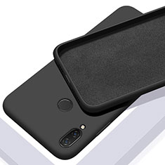Silikon Hülle Handyhülle Ultra Dünn Schutzhülle 360 Grad Tasche für Xiaomi Redmi 7 Schwarz