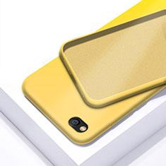 Silikon Hülle Handyhülle Ultra Dünn Schutzhülle 360 Grad Tasche für Xiaomi Redmi Go Gelb