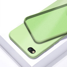 Silikon Hülle Handyhülle Ultra Dünn Schutzhülle 360 Grad Tasche für Xiaomi Redmi Go Grün