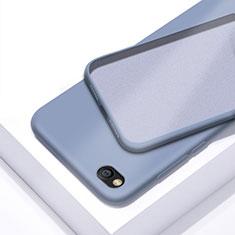 Silikon Hülle Handyhülle Ultra Dünn Schutzhülle 360 Grad Tasche für Xiaomi Redmi Go Hellblau