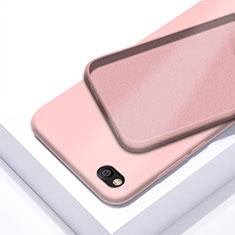 Silikon Hülle Handyhülle Ultra Dünn Schutzhülle 360 Grad Tasche für Xiaomi Redmi Go Rosegold