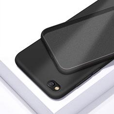 Silikon Hülle Handyhülle Ultra Dünn Schutzhülle 360 Grad Tasche für Xiaomi Redmi Go Schwarz