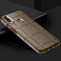Silikon Hülle Handyhülle Ultra Dünn Schutzhülle 360 Grad Tasche für Xiaomi Redmi Note 7 Braun