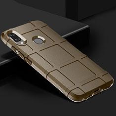 Silikon Hülle Handyhülle Ultra Dünn Schutzhülle 360 Grad Tasche für Xiaomi Redmi Note 7 Pro Braun