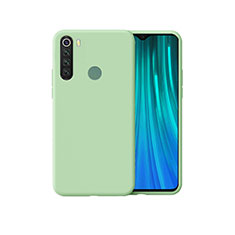 Silikon Hülle Handyhülle Ultra Dünn Schutzhülle 360 Grad Tasche für Xiaomi Redmi Note 8 Grün