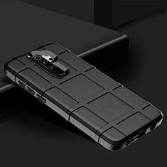 Silikon Hülle Handyhülle Ultra Dünn Schutzhülle 360 Grad Tasche für Xiaomi Redmi Note 8 Pro Schwarz