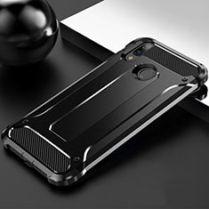 Silikon Hülle Handyhülle Ultra Dünn Schutzhülle 360 Grad Tasche S01 für Huawei Enjoy 9 Plus Schwarz