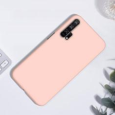 Silikon Hülle Handyhülle Ultra Dünn Schutzhülle 360 Grad Tasche S01 für Huawei Honor 20 Pro Rosegold