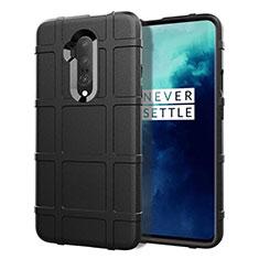 Silikon Hülle Handyhülle Ultra Dünn Schutzhülle 360 Grad Tasche S01 für OnePlus 7T Pro Schwarz