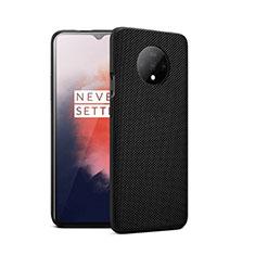 Silikon Hülle Handyhülle Ultra Dünn Schutzhülle 360 Grad Tasche S01 für OnePlus 7T Schwarz