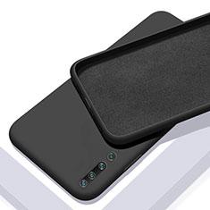 Silikon Hülle Handyhülle Ultra Dünn Schutzhülle 360 Grad Tasche S01 für Xiaomi Mi 10 Schwarz