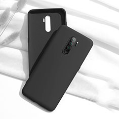 Silikon Hülle Handyhülle Ultra Dünn Schutzhülle 360 Grad Tasche S01 für Xiaomi Redmi Note 8 Pro Schwarz