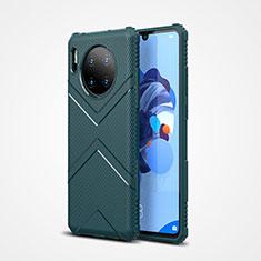 Silikon Hülle Handyhülle Ultra Dünn Schutzhülle 360 Grad Tasche S02 für Huawei Mate 30 5G Grün