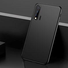 Silikon Hülle Handyhülle Ultra Dünn Schutzhülle 360 Grad Tasche S02 für Huawei Nova 6 5G Schwarz