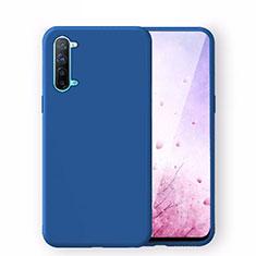 Silikon Hülle Handyhülle Ultra Dünn Schutzhülle 360 Grad Tasche S02 für Oppo Find X2 Lite Blau
