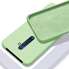 Silikon Hülle Handyhülle Ultra Dünn Schutzhülle 360 Grad Tasche S02 für Oppo Reno2 Grün