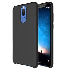 Silikon Hülle Handyhülle Ultra Dünn Schutzhülle 360 Grad Tasche S04 für Huawei Mate 10 Lite Schwarz