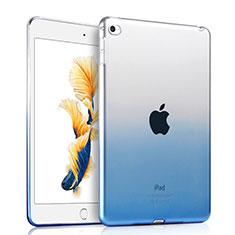 Silikon Hülle Handyhülle Ultra Dünn Schutzhülle Durchsichtig Farbverlauf für Apple iPad Air 2 Blau