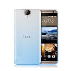 Silikon Hülle Handyhülle Ultra Dünn Schutzhülle Durchsichtig Farbverlauf für HTC One E9 Plus Blau