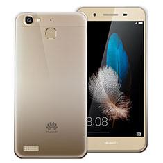 Silikon Hülle Handyhülle Ultra Dünn Schutzhülle Durchsichtig Farbverlauf für Huawei Enjoy 5S Grau