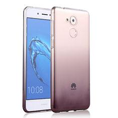 Silikon Hülle Handyhülle Ultra Dünn Schutzhülle Durchsichtig Farbverlauf für Huawei Enjoy 6S Grau