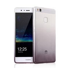 Silikon Hülle Handyhülle Ultra Dünn Schutzhülle Durchsichtig Farbverlauf für Huawei P9 Lite Grau