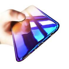 Silikon Hülle Handyhülle Ultra Dünn Schutzhülle Durchsichtig Farbverlauf für Samsung Galaxy S8 Plus Plusfarbig