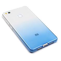 Silikon Hülle Handyhülle Ultra Dünn Schutzhülle Durchsichtig Farbverlauf für Xiaomi Mi 4S Blau
