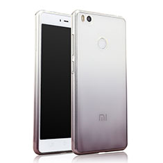 Silikon Hülle Handyhülle Ultra Dünn Schutzhülle Durchsichtig Farbverlauf für Xiaomi Mi 4S Grau