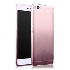 Silikon Hülle Handyhülle Ultra Dünn Schutzhülle Durchsichtig Farbverlauf für Xiaomi Mi 5S Grau