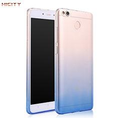 Silikon Hülle Handyhülle Ultra Dünn Schutzhülle Durchsichtig Farbverlauf für Xiaomi Redmi 4X Blau