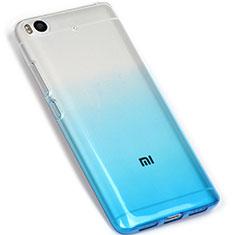 Silikon Hülle Handyhülle Ultra Dünn Schutzhülle Durchsichtig Farbverlauf G01 für Xiaomi Mi 5S Blau