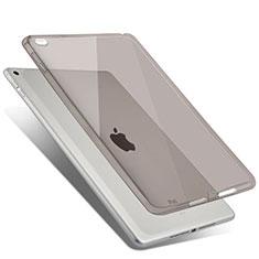 Silikon Hülle Handyhülle Ultra Dünn Schutzhülle Durchsichtig Transparent für Apple iPad Air 2 Grau