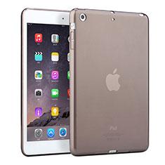 Silikon Hülle Handyhülle Ultra Dünn Schutzhülle Durchsichtig Transparent für Apple iPad Mini 3 Grau