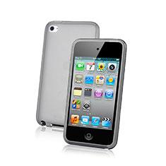 Silikon Hülle Handyhülle Ultra Dünn Schutzhülle Durchsichtig Transparent für Apple iPod Touch 4 Grün