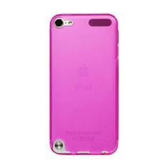 Silikon Hülle Handyhülle Ultra Dünn Schutzhülle Durchsichtig Transparent für Apple iPod Touch 5 Pink